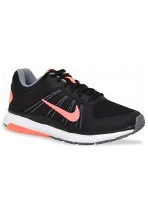 Tenis Nike Running Dart 12 Msl Preto Laranja