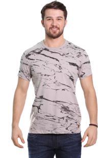 Camiseta Javali Marmorizado Areia