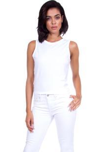 Regata Levis Feminina Twisted Back Branca Branco
