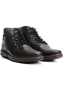 82351e46a9 ... Sapato Social Couro Pegada Masculino - Masculino-Preto