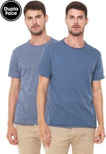 Camiseta Reserva Dupla-Face Riviera Azul