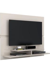 Painel Para Tv Mônaco New Off White Lukaliam Móveis
