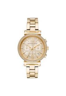 Relógio Michael Kors Mk65591Dn Analógico | Michael Kors | Dourado | U