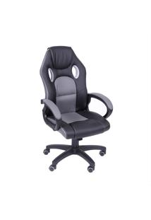 Cadeira Office Gamer 3316-Or Design - Cinza