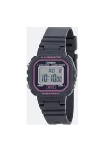 Relógio Feminino Casio La 20Wh 8Adf Digital   Casio   U