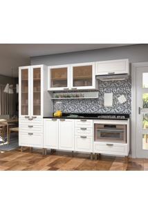 Cozinha Compacta Nevada 7 Pt 7 Gv Branca