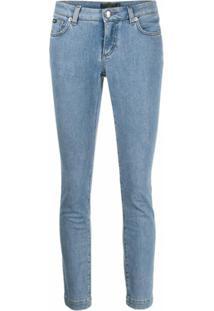 Dolce & Gabbana Calça Jeans Skinny Cropped - Azul