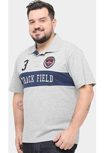 Camisa Polo Local Piquet Bordada Plus Size Masculina - Masculino