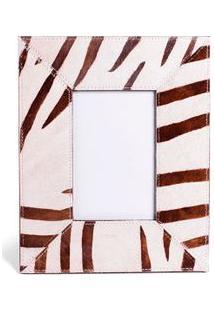 Porta Retrato Zebra Cor: Marrom - Tamanho: Único