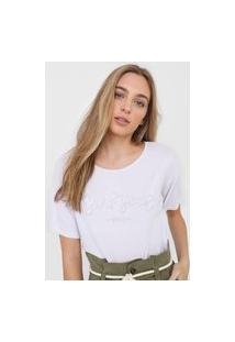 Camiseta Roxy Surf Yeah Branca
