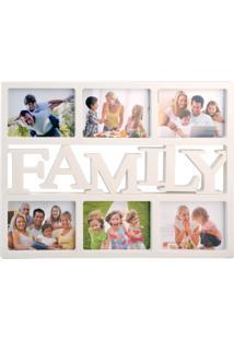 Porta Retrato Dolce Home Soft Home 6 Fotos 10X15Cm Branco
