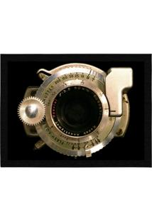 Capacho - Tapete Colours Creative Photo Decor - Lente De Câmera Fotográfica Preto