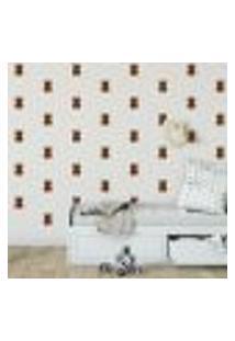 Adesivo Decorativo De Parede - Kit Com 45 Ursinhos - 032Kaa11