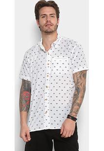 Camisa Redley Mc Mini Icons Pattern Masculina - Masculino