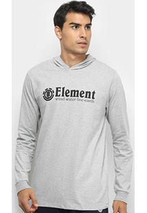 Camiseta Manga Longa Element Blazin Masculina - Masculino