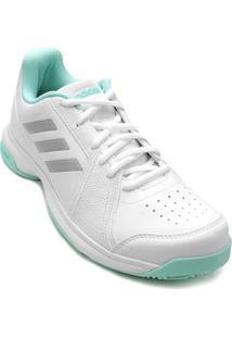 Tênis Adidas Aspire Feminino - Feminino-Branco+Verde Água