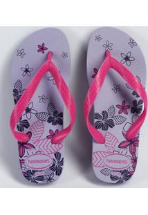 Chinelo Feminino Havaianas Color Silk