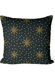 Capa De Almofada Love Decor Avulsa Decorativa Estrelas Premium - Preto - Dafiti