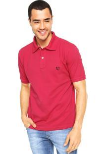 Camisa Polo Mr. Kitsch Vauvert Rosa
