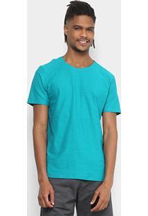 Camiseta Kohmar Flamê Masculina - Masculino-Verde Água