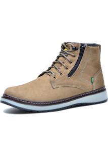 Bota Worker Over Boots Couro Areia Urban