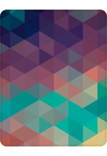 Tapete Love Decor Sala Wevans Geométrico Único Roxo