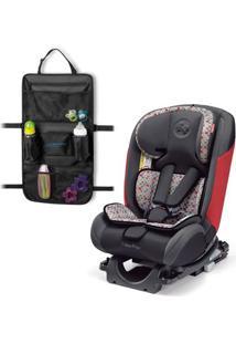 Kit De Cadeira Para Auto - De 0 A 36 Kg - All-Stages Fix - Vermelho - Fisher-Price E Organizador Para Carrinho - Travel Bag - Multikids Baby