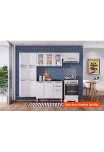 Cozinha Compacta Luce I 10 Pt Branca