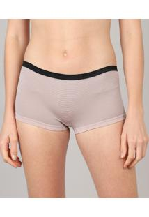 Kit De 2 Calcinhas Boyshort Delrio Multicor