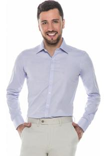 Camisa Raphy Clássica Quadriculada Lilás
