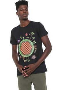 Camiseta Tectoy Sonic The Hedgehog Pixel Preta
