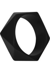 Bracelete De Resina Geométrico