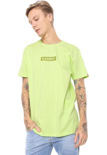 Camiseta Element Neon Verde