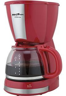 Cafeteira Elétrica Britânia Cp30 - 110V - Vermelha
