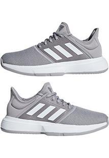d43730f7f ... Tênis Adidas Gamecourt Feminino - Feminino-Cinza