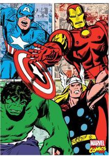 Quadro Comics Herois