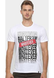 Camiseta All Free Whatever Masculina - Masculino-Branco