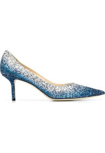 Jimmy Choo Scarpin Love Com Salto 65Mm - Azul