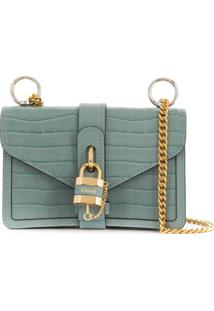Chloé Aby Chain Shoulder Bag - Azul