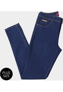 Calça Jeans Skinny Biotiopo Plus Size Feminina - Feminino
