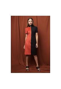 Vestido Practory Modelagem Reta - Pra-Vt700-Vermelho