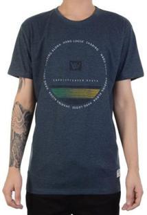 Camiseta Hang Loose Silk Circlestripe Masculina - Masculino-Azul
