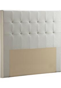 Cabeceira Casal Fit Barcelona-Sono Design - Branco
