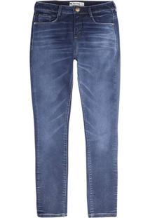 Calça Jeans Masculina Hering Em Modelagem Skinny Com Lavação Escura