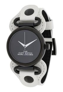 Marc Jacobs Watches Relógio The Cuff - Branco