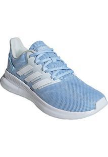 Tênis Adidas Falcon Feminino - Feminino-Azul Claro