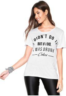 Camiseta Colcci Slim Branca