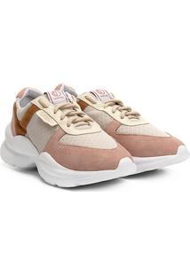 ccf0a4fe0 R$ 254,99. Netshoes Tênis Chunky Dumond Sneaker Recortes Feminino - Feminino.  Ir para a loja; Tênis Couro Dumond Flatform Recorte Estampa Lateral ...