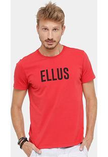 Camiseta Ellus Classic Masculina - Masculino