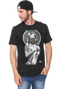 Camiseta Mcd Wheel Preta